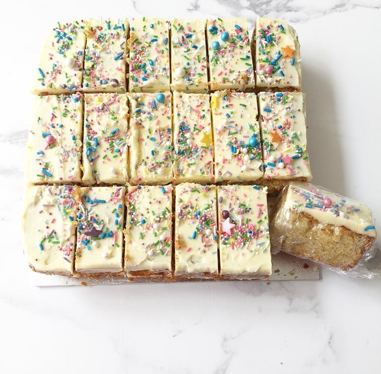Wondrous Cherubs Magazine Birthday Party Sponge Cake Personalised Birthday Cards Arneslily Jamesorg